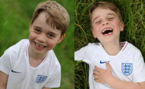 Πρίγκιπας Τζορτζ: Έκλεισε τα έξι και ποζάρει με τη φανέλα της εθνικής Αγγλίας