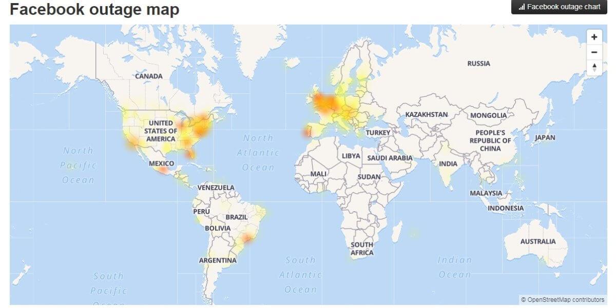 Προβλήματα για τους χρήστες Facebook, Instagram και WhatsApp σε όλο τον κόσμο