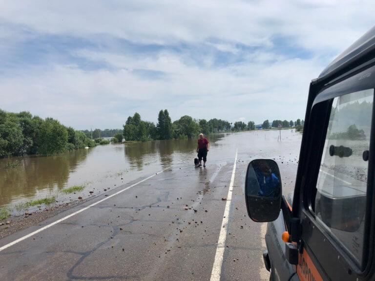 Ρωσία: Στους 18 οι νεκροί από τις πλημμύρες