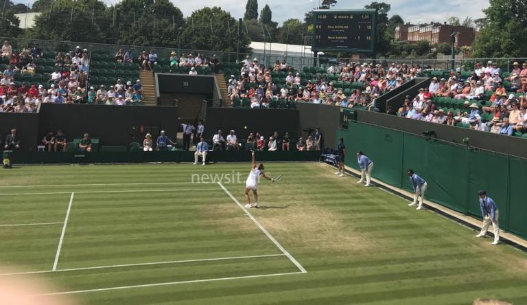 Wimbledon: Πάλεψε, αλλά «λύγισε» η Σάκκαρη! Στον τέταρτο γύρο η Σβιτολίνα