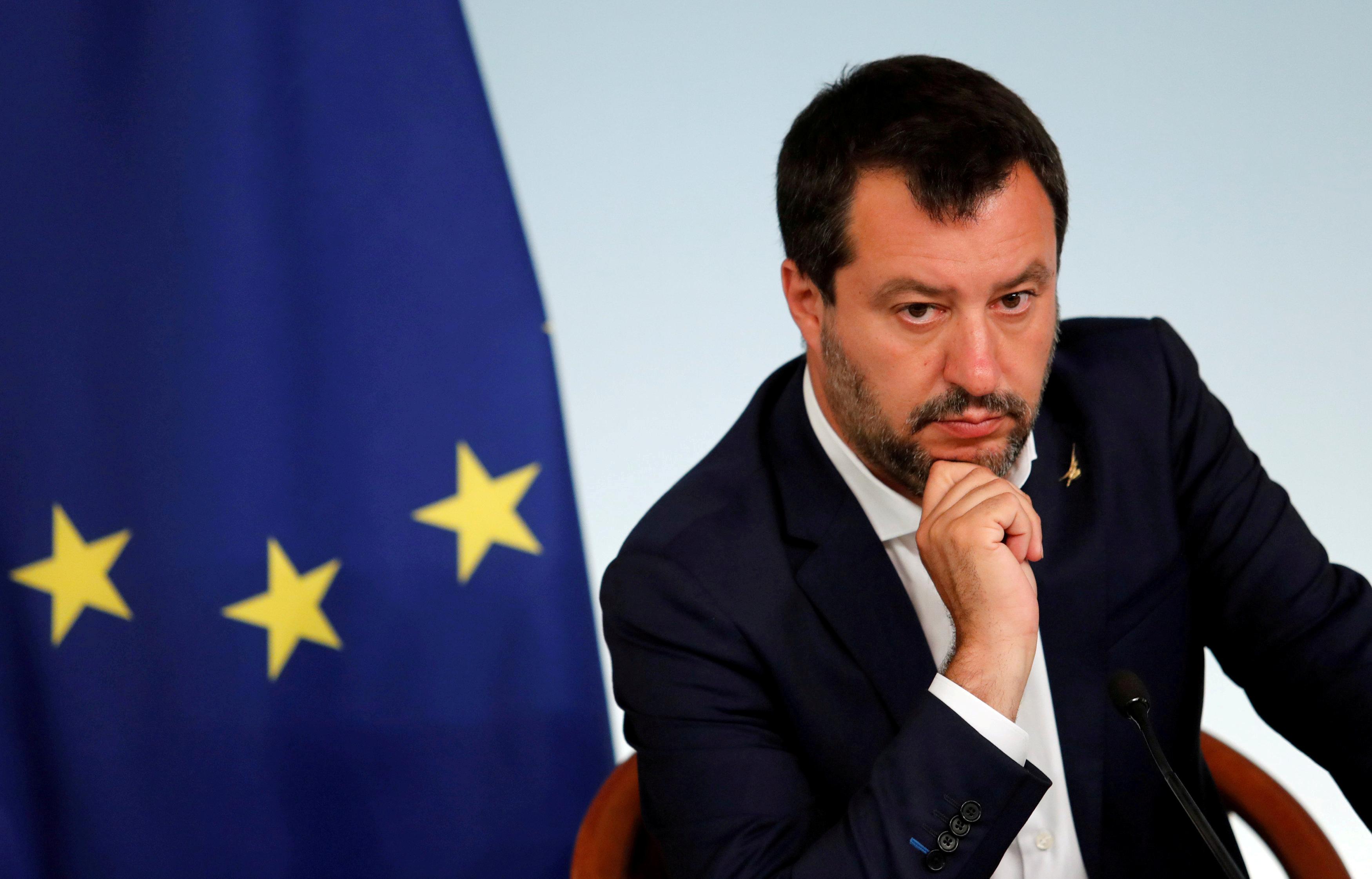 Σαλβίνι: Ανοιχτό το ενδεχόμενο για εκλογές στην Ιταλία το Φθινόπωρο