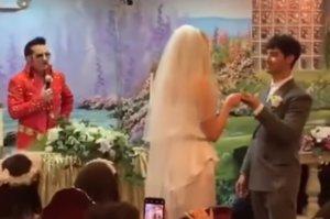 Πρωταγωνίστρια του «Game of Thrones» έκανε και δεύτερη τελετή γάμου! Pics, video