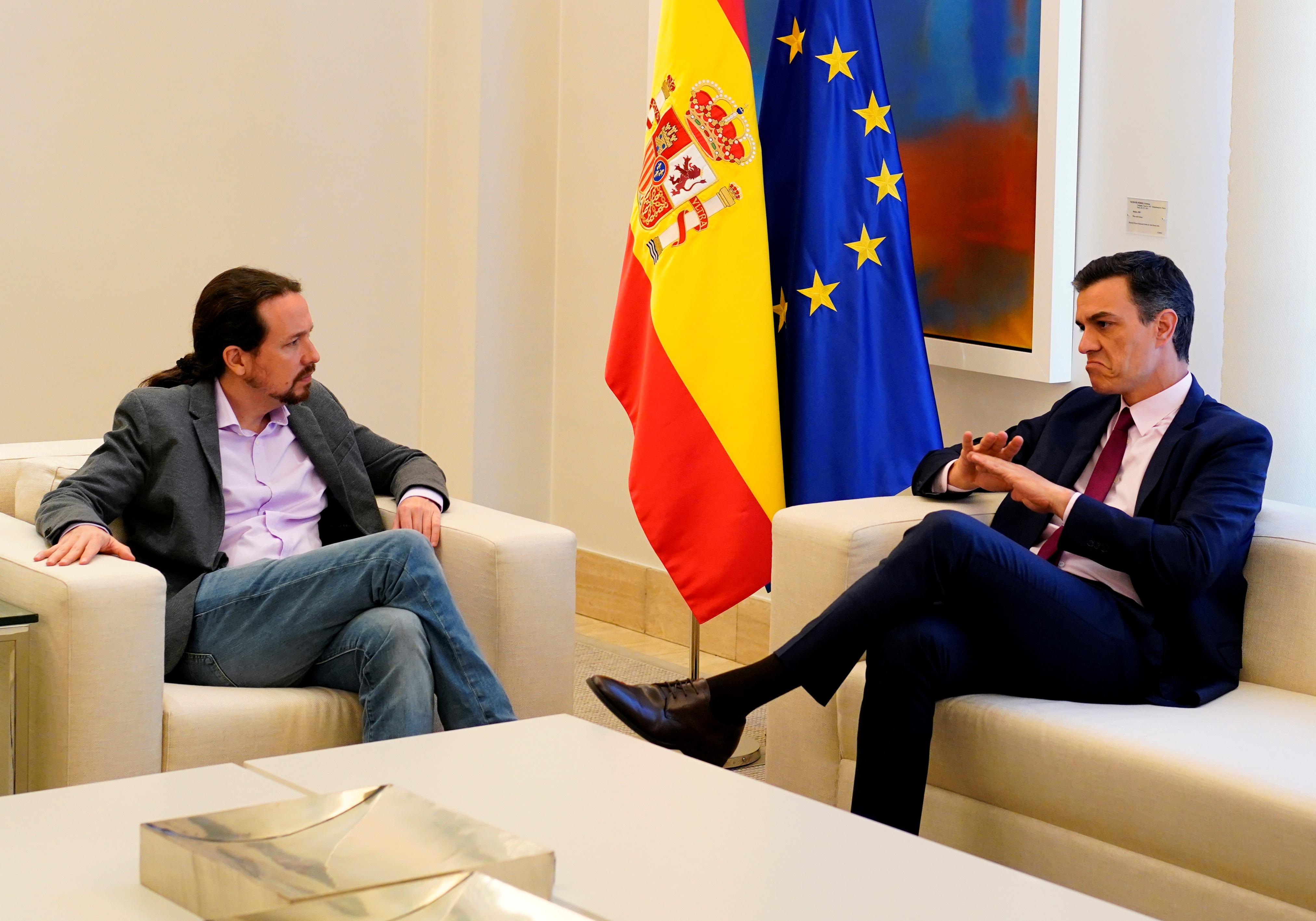 Ο Σάντσεθ δεν δέχεται στην κυβέρνησή του τον Πάμπλο Ιγκλέσιας των Podemos