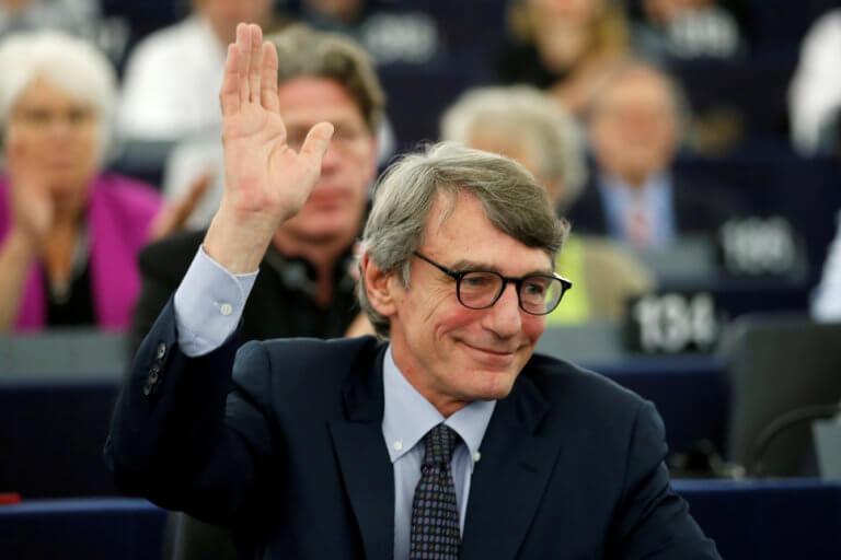Σασόλι: Ποιός είναι ο Ιταλός που από δημοσιογράφος έγινε Πρόεδρος του Ευρωκοινοβουλίου