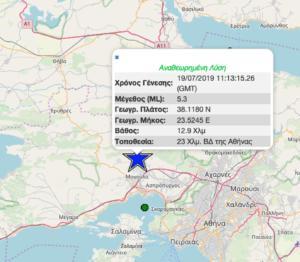 Σεισμός στην Αθήνα – Τι καταγράφουν ΤΩΡΑ οι σεισμογράφοι, συνεχείς οι μετασεισμοί