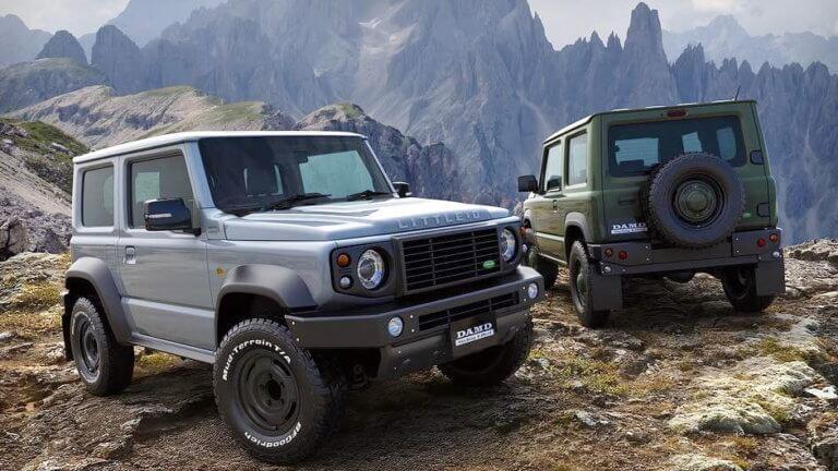 Το Suzuki Jimny μεταμφιέζεται σε Land Rover Defender
