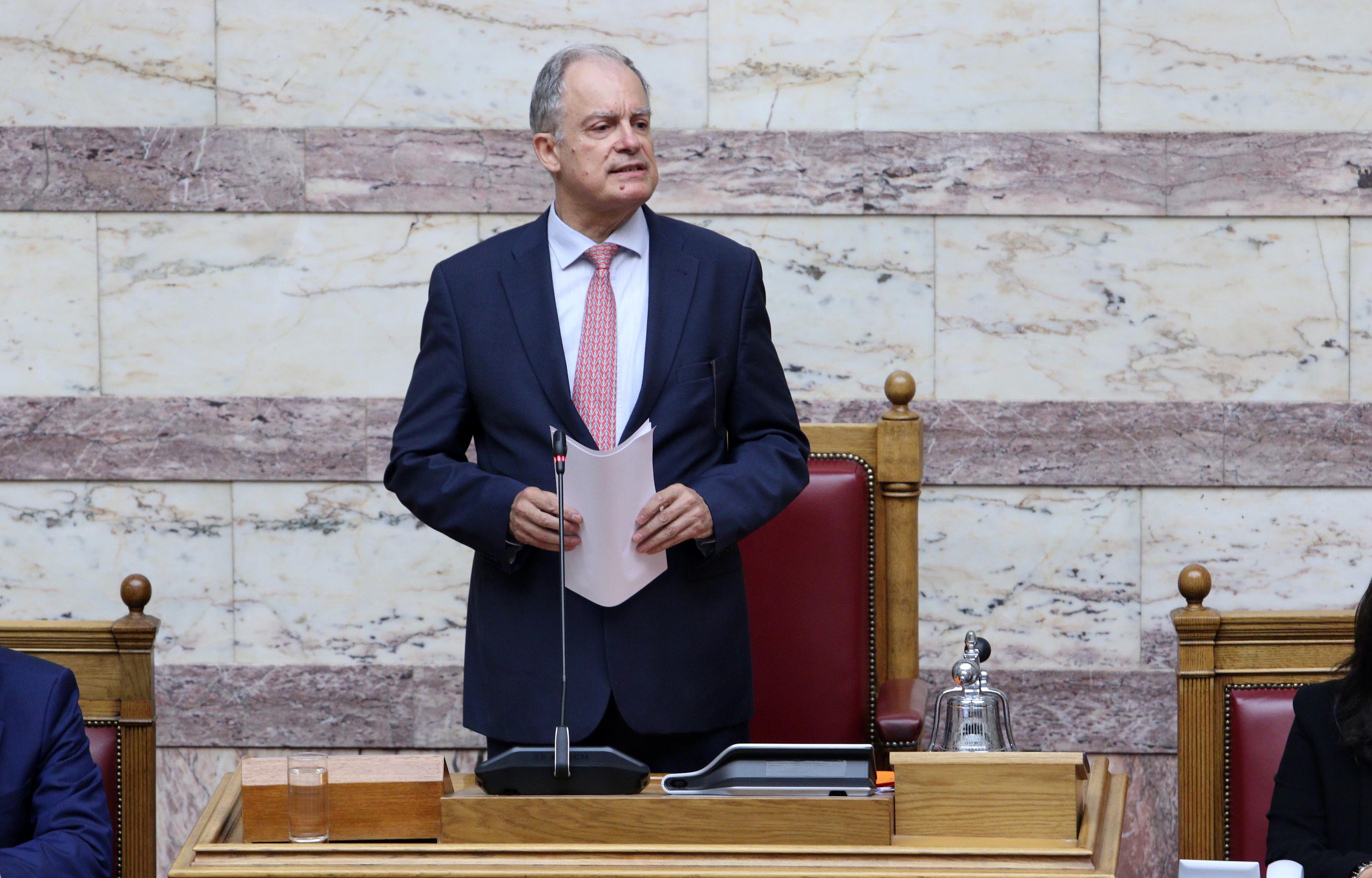 Συγχαρητήρια Παυλόπουλου και Μητσοτάκη στον νέο Πρόεδρο της Βουλής