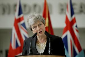 """Η Τερέζα Μέι αισθάνεται χαρμολύπη στην τοποθεσία Λονδίνο! """"Θυσίασα τη θέση μου για τη συμφωνία για το Brexit"""""""