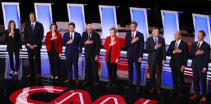 Η κίνηση του υποψηφίου των Δημοκρατικών που προκάλεσε αντιδράσεις – video