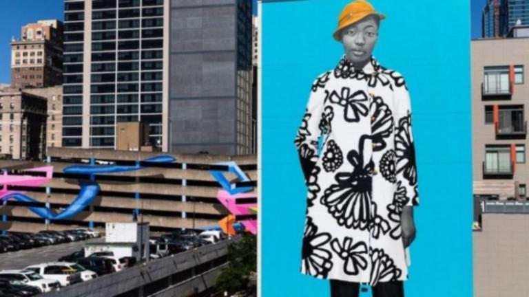 Τοιχογραφία της Έιμι Σέραλντ στη Φιλαδέλφεια