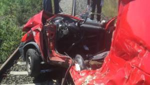 Φλώρινα: Πώς έγινε το ατύχημα με το τρένο – Δύο οι τραυματίες, ο ένας ανήλικος [pics]