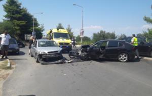 Χαλκιδική: Σοβαρό τροχαίο με δύο τραυματίες – Το ΕΚΑΒ και ο ρόλος της δημάρχου