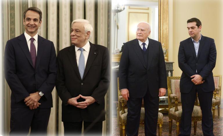 Ορκωμοσία κυβέρνησης: Από το 2015 στο 2019… μόνο το Προεδρικό ήταν ίδιο [pics]