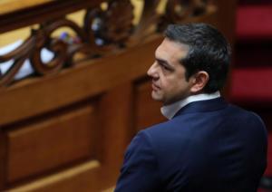 Αγέλαστος Τσίπρας στην ορκωμοσία της Βουλής [pics]