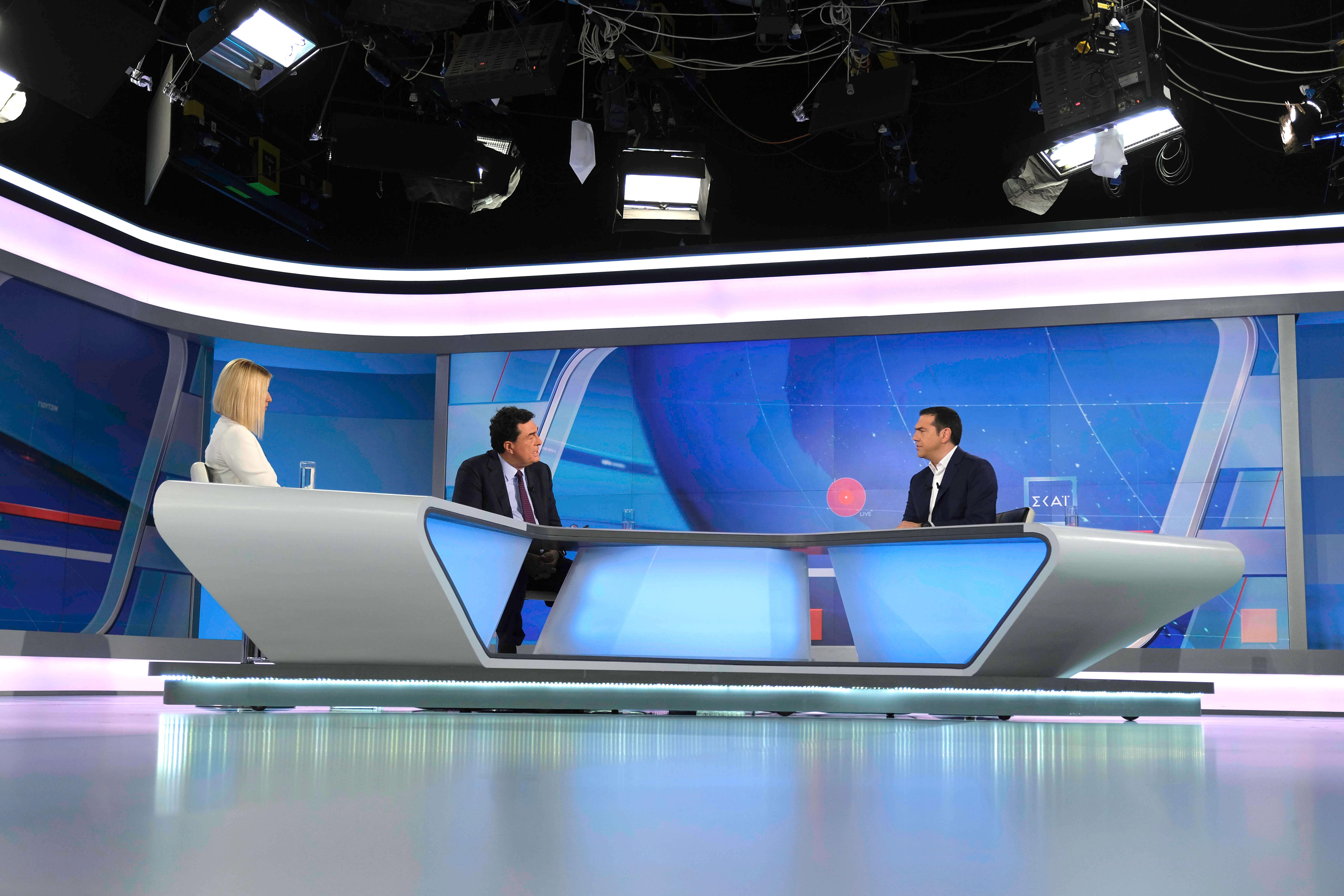 Συνέντευξη Τσίπρα στον ΣΚΑΪ – Χτύπησε κόκκινο η τηλεθέαση | Newsit.gr