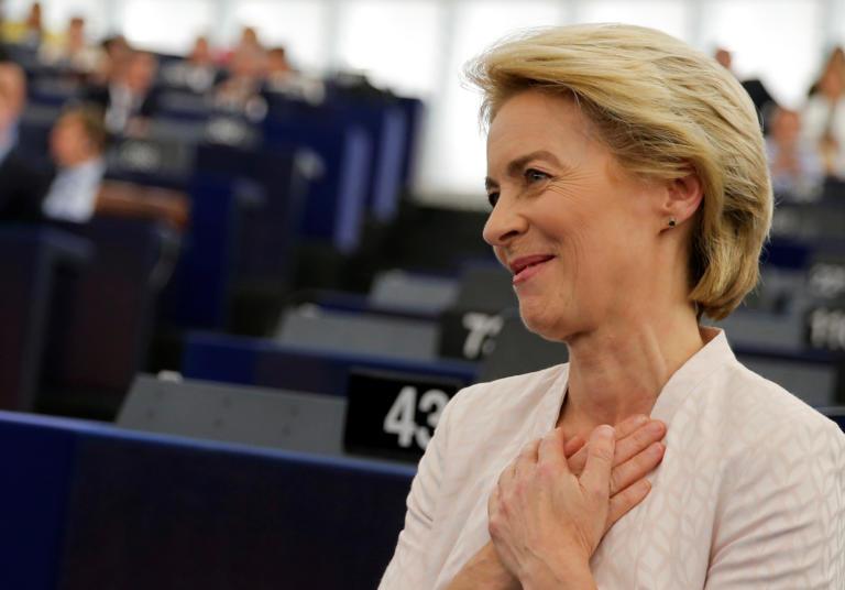 Mια «ενωμένη και ισχυρή Ευρώπη» υπόσχεται η Ούρσουλα φον ντερ Λάιεν