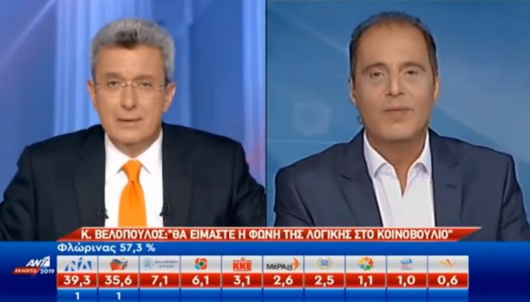 Εκλογές 2019: Αδιανόητη γκάφα ο Βελόπουλος! «Είμαι από τη Βόρεια Μακεδονία»! video