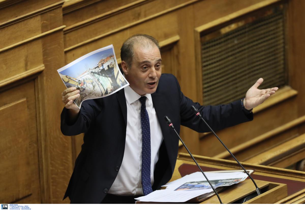 Προγραμματικές δηλώσεις – Βελόπουλος: Ακυρώστε την Συμφωνία των Πρεσπών (φωτό-βίντεο)