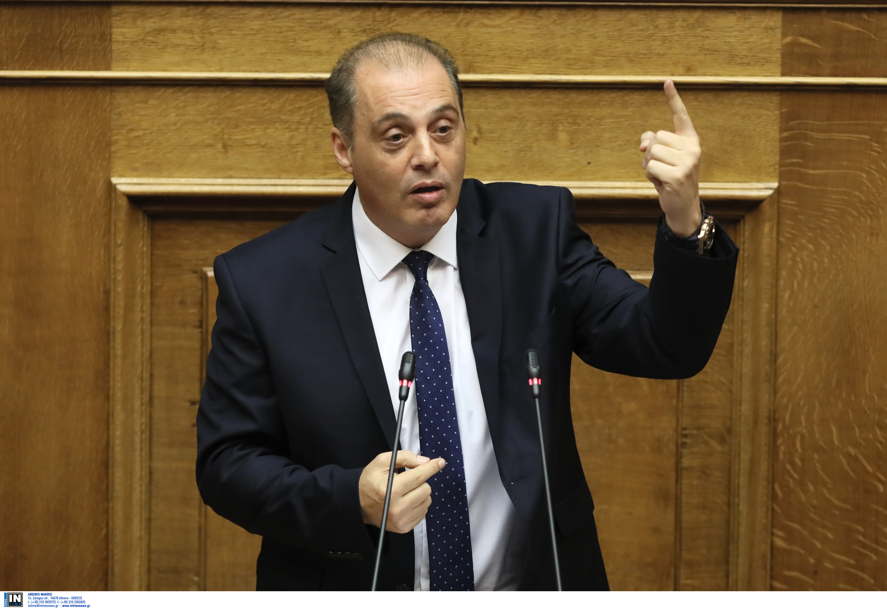 Βελόπουλος: Ακυρώστε την Συμφωνία των Πρεσπών και ο λαός θα σας ευγνωμονεί