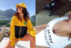 Απέτυχε η γυμνή εισβολέας στο Copa America! Κατέληξε σε φυλακή της Βραζιλίας [vid, pics]