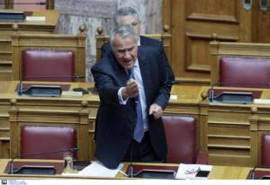 Προγραμματικές δηλώσεις: «Τσακώθηκαν» Βορίδης – Βελόπουλος για τη Συμφωνία των Πρεσπών