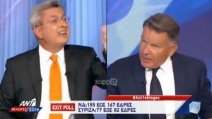 """Εκλογές 2019: """"Σκοτώθηκαν"""" Χατζηνικολάου – Κούγιας στον """"αέρα""""! video"""