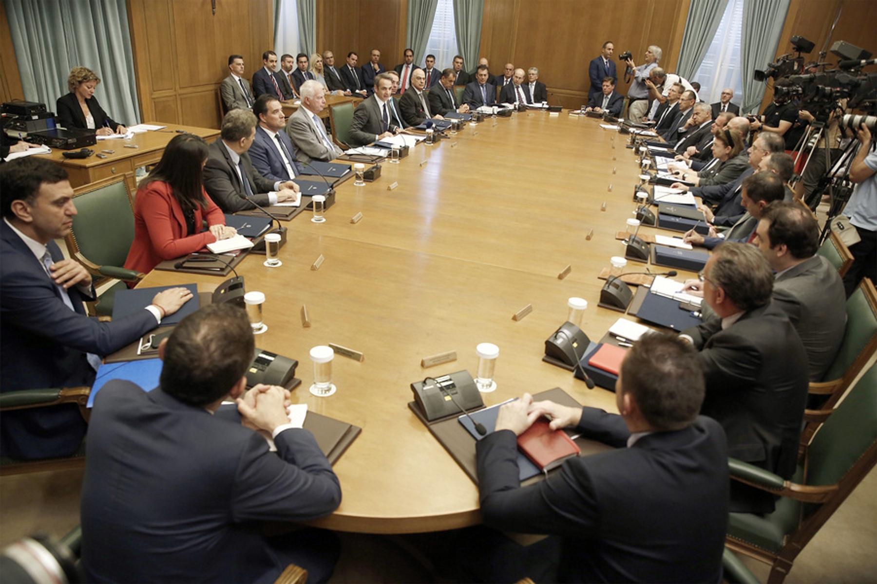 Αποτέλεσμα εικόνας για υπουργικο συμβουλιο