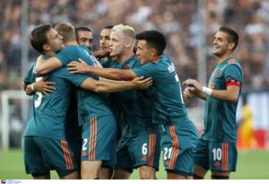 """ΠΑΟΚ – Άγιαξ 2-2 ΤΕΛΙΚΟ: Η ατυχία τον """"κράτησε"""" στην ισοπαλία!"""