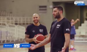 Εθνική μπάσκετ: Ατάκες για… γέλιο! Η γκλίτσα του Μπουρούση και το κούρεμα του Πρίντεζη – video