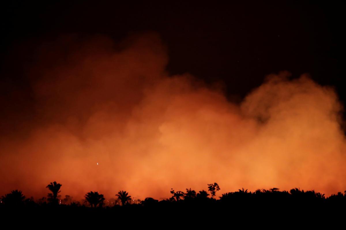 Αμαζόνιος στις φλόγες