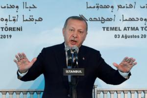Ερντογάν: Δεν αποδεχόμαστε την παράνομη προσάρτηση της Κριμαίας!