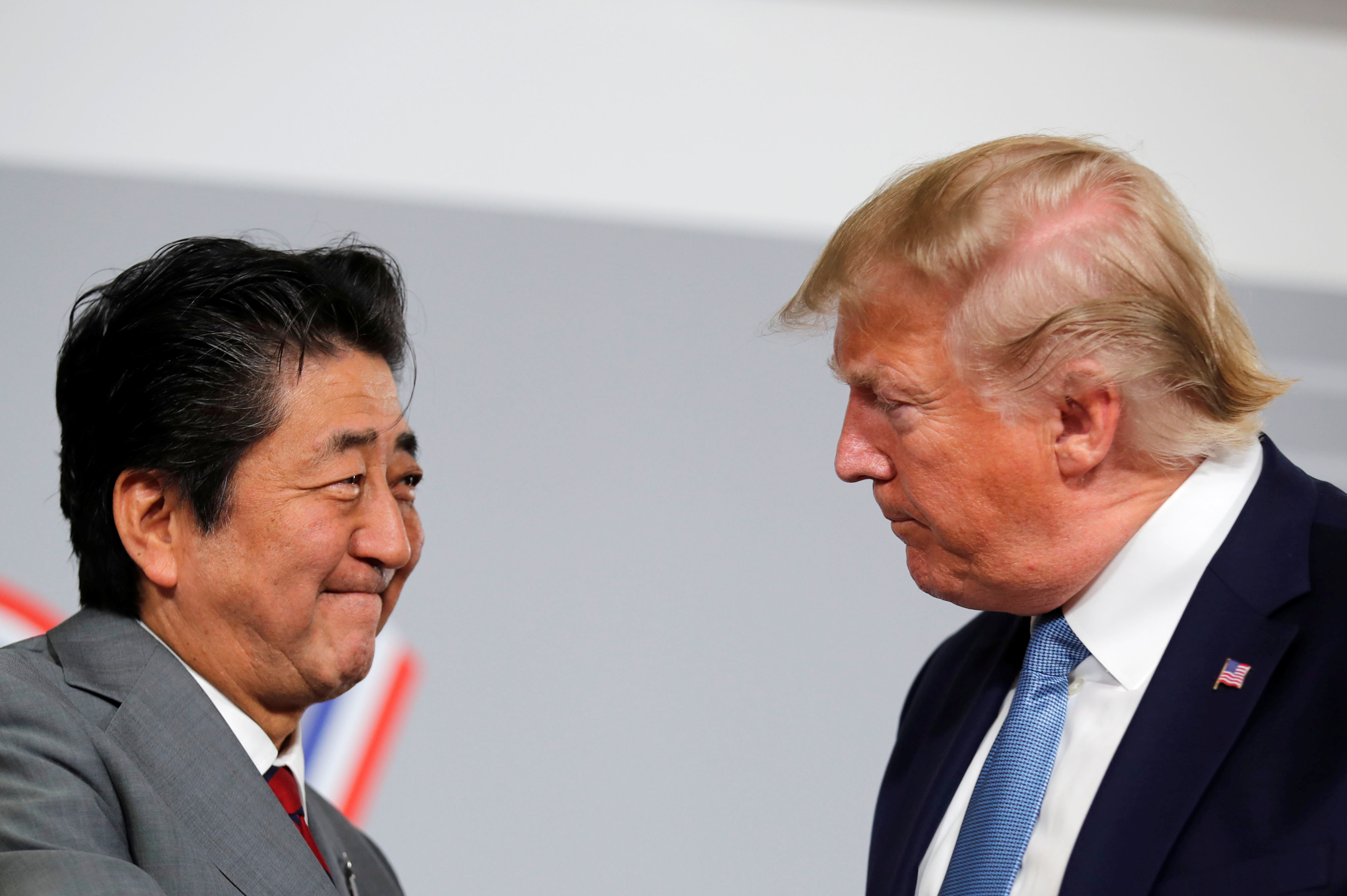 Τραμπ - Άμπε - G7