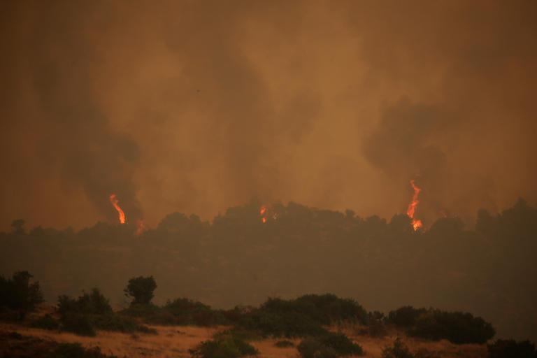 Και το One στη μάχη της ενημέρωσης για τη φωτιά στην Εύβοια