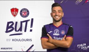 Κουλούρης: Το πρώτο του γκολ στο γαλλικό πρωτάθλημα! video