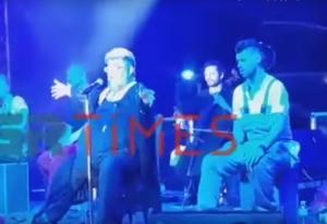 Απίστευτο ξέσπασμα Κραουνάκη στη σκηνή! Διέκοψε τη συναυλία – video