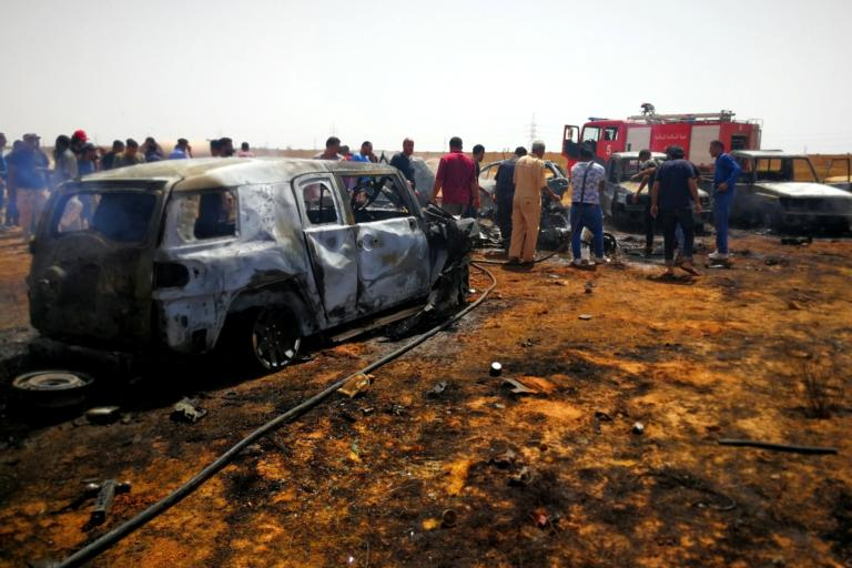 Λιβύη: Τουλάχιστον 43 νεκροί από αεροπορική επιδρομή