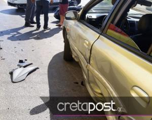 Κρήτη: Ένας σοβαρά τραυματίας σε τροχαίο με μηχανή