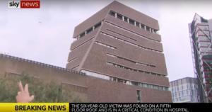 Λονδίνο: Δεκαεπτάχρονος έσπρωξε εξάχρονο στο κενό από τον 10ο όροφο! video
