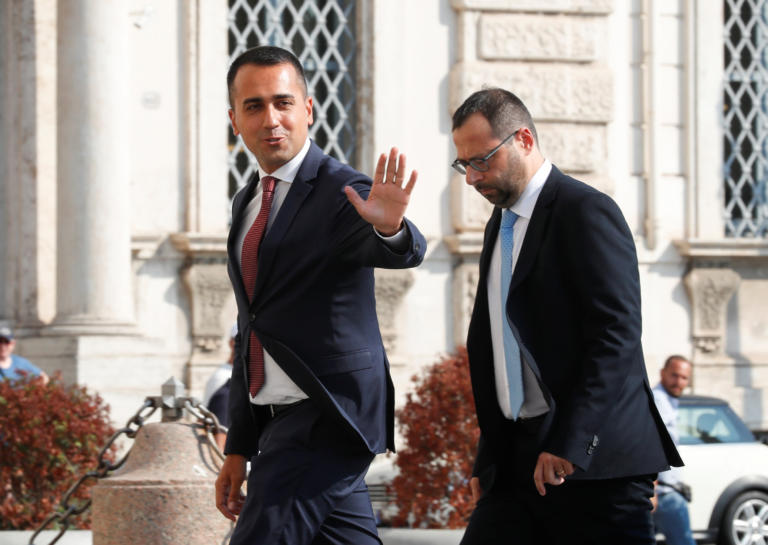 Ιταλία: Άρχισαν εκ νέου διαπραγματεύσεις M5S και PD για τον σχηματισμό κυβέρνησης