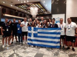 Μεσογειακοί Παράκτιοι Αγώνες: Τέσσερα ακόμα μετάλλια στην τεχνική κολύμβηση