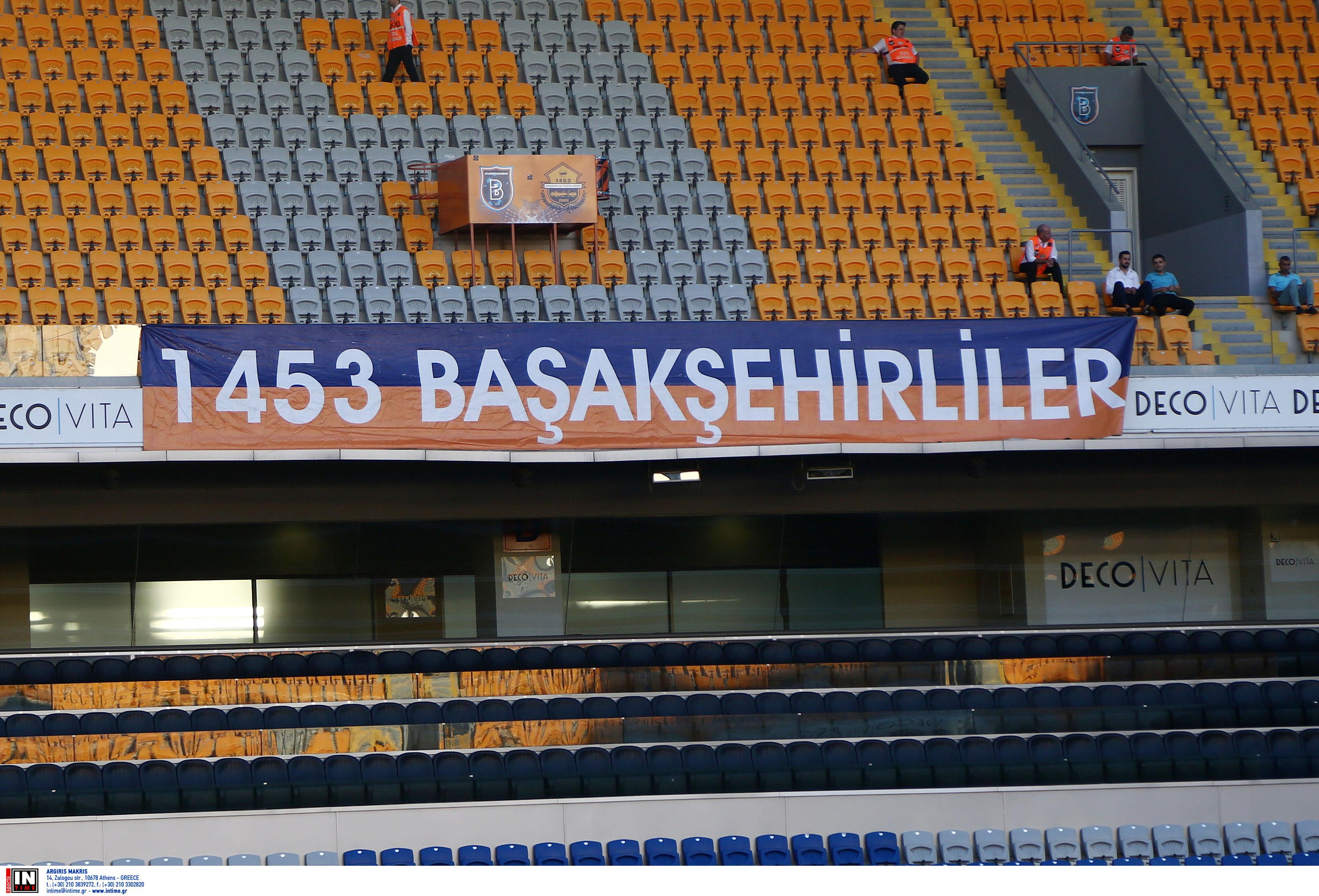 Μπασακσεχίρ – Ολυμπιακός: Προκλητικό πανό από τους Τούρκους! pic