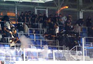 ΠΑΟΚ: Διάβημα στην UEFA για πλαστικές σφαίρες από την αστυνομία