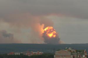 Ρωσία: Τρομερή έκρηξη σε αποθήκη πυρομαχικών – Ένας νεκρός, επτά τραυματίες