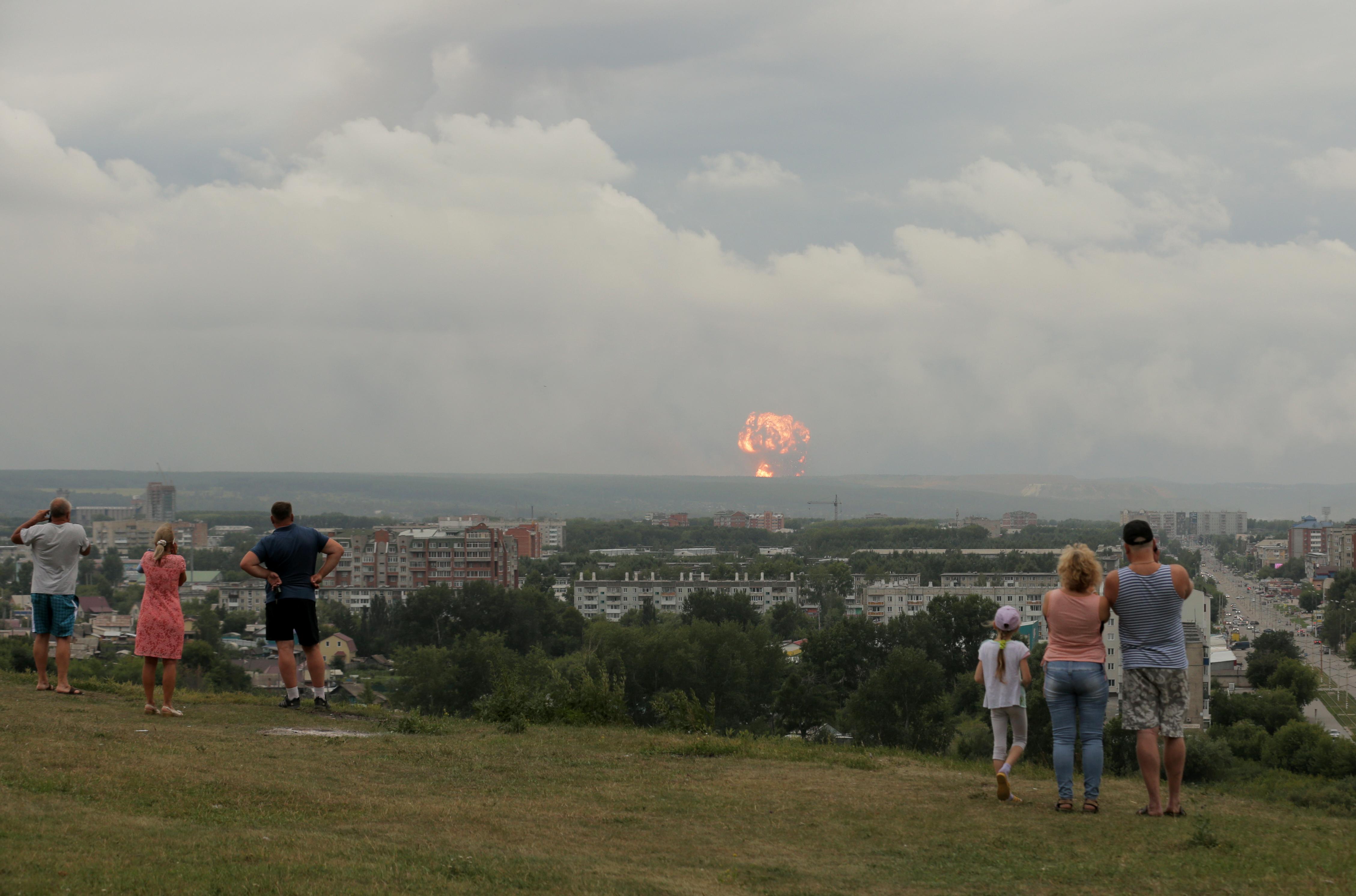 Ρωσία - έκρηξη - ραδιενέργεια