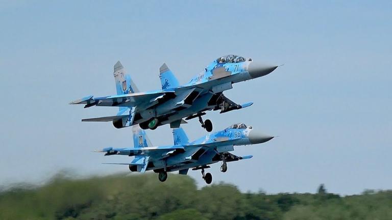 Ρωσικά μαχητικά Sukhoi έριξαν πυραύλους εναντίον στόχων στα Ανατολικά της χώρας