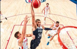 """""""Αγρίεψε"""" η Team USA στο… κορυφαίο φιλικό με Ισπανία! video"""