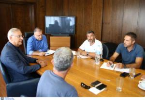 Συνάντηση Θεοδωρικάκου – υπαλλήλων ΟΤΑ: Προτεραιότητα η στήριξη της Τοπικής Αυτοδιοίκησης
