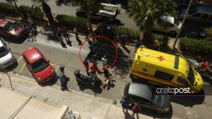 Κρήτη: Έχασε τον έλεγχο της μοτοσικλέτας του και προσγειώθηκε σε… φοίνικες