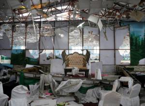 Αφγανιστάν: Επίθεση καμικάζι σε γάμο – Τουλάχιστον 63 οι νεκροί [pics]
