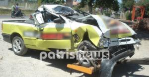 """Αμαλιάδα: Ο κλέφτης τράκαρε και τραυματίστηκε με το αυτοκίνητο που """"βούτηξε""""!"""